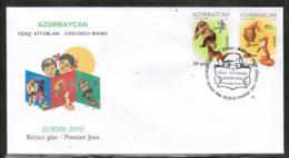 CEPT 2010 AZ MI 791-92 AZERBAIJAN FDC - Europa-CEPT