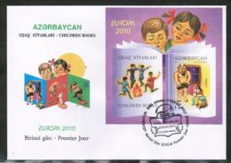 CEPT 2010 AZ MI BL 89  AZERBAIJAN FDC - Europa-CEPT