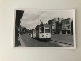 Hoboken  Antwerpen  FOTOKAART Tram N° 505 Kioskplein Terminus  Gedateerd 25 Juli 1958  TRAMWAY  TRAM - Antwerpen