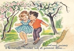 CPA Enfant JEUX De La Marelle St NICOLAS - Cartes Humoristiques
