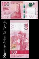 Hong Kong 100 Dollars Standard Chartered Bank 2018 (2019) Pick New SC UNC - Hongkong