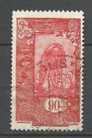 COTE DES SOMALIE N° 133 OBL - Oblitérés