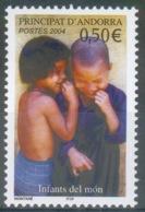 Andorra (French Adm.), Children, 2004, MNH VF  592 - French Andorra