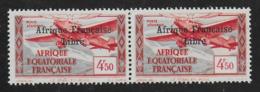 AFRIQUE EQUATORIALE FRANCAISE - AEF - A.E.F. - 1940 - YT PA 17** - VARIETE - SANS CEDILLE - A.E.F. (1936-1958)