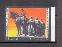 2369 18-daagse Veldtocht 1940 ONGETAND   POSTFRIS** 1990 - Belgique