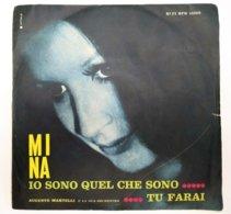 """MA19 Disco Vinile 45 Giri MINA """"IO SONO QUEL CHE SONO / TU FARAI"""" - 7'' Vinyl Record - Altri - Musica Italiana"""