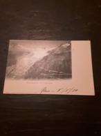 Cartolina Postale, Postcard 1900, Rhonegletscher Und Furkastrasse - UR Uri