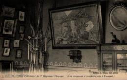 Algérie - SIDI-BEL-ABBES - Salle D'Honneur Du 1er Régiment Etranger - Les Drapeaux Et Trophées Pris à L'ennemi - Sidi-bel-Abbes