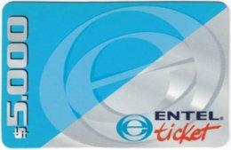 CHILE A-056 Prepaid Entel - Used - Chili