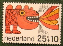 25 + 10 Ct Kinderzegel Child Welfare Kinder Enfant NVPH 915 (Mi 908) 1968 Gestempeld / USED NEDERLAND / NIEDERLANDE - Used Stamps