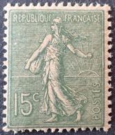 R1189/42 - 1904 - TYPE SEMEUSE LIGNEE - N°130j (IV) NEUF** - Nuovi