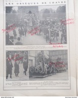 1910 L'AVIATEUR CHAVEZ - LES OBSÈQUES À SAINT FRANÇOIS DE SALES - LA VIE AU GRAND AIR - Libros, Revistas, Cómics