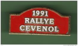 SPORT AUTO *** RALLYE CEVENOL 1991 *** 1058 - Automobile - F1