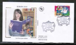 CEPT 2010 FR MI 4857 FRANCE FDC - Europa-CEPT