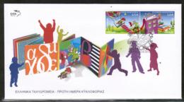 CEPT 2010 GR MI 2553-54 A GREECE FDC - Europa-CEPT