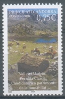 Andorra (French Adm.), Madriu-Perafita-Claror Valley, Horses, 2004, MNH VF  596 - French Andorra