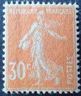 R1189/48 - 1907 - TYPE SEMEUSE - N°141c NEUF** - Papier GC - TRES BON CENTRAGE - France