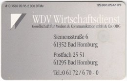 GERMANY O-Serie B-377 - 1569 09.95 - Used - Germania