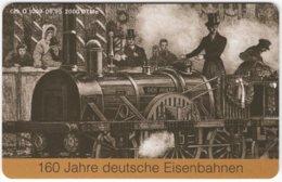 GERMANY O-Serie B-394 - 1009 06.95 - Painting, Traffic, Historic Steamlocomotive - MINT - Deutschland