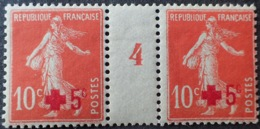 R1189/50 - 1914 - TYPE SEMEUSE - CROIX ROUGE - N°146 TIMBRES NEUFS** Mill. 4 - Millésimes