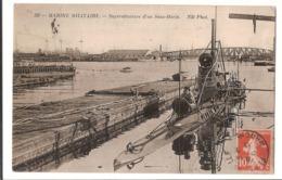 83 101 - TOULON, Arsenal - Marine Militaire - Militaria - Superstructure D'un Sous Marin - ALOSE - Toulon