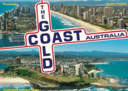 1 AK Australien * Gold Coast - Luftbildaufnahmen, Broadwater, Surfers Paradise, Coolangatta - Tweed Heads * - Gold Coast
