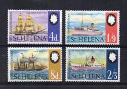 ISOLA DI ST. HELENA - 1969 - Navi Postali - 4 Valori - Nuovi - Linguellati * - (FDC17270) - Isola Di Sant'Elena