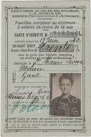 Gard, Nîmes, Carte D'identité Pour Réduction Chemin De Fer 1932 - Documents Historiques