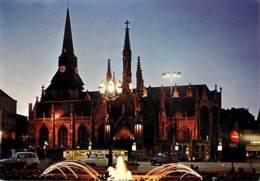 59 - Roubaix - Les Illuminations : Eglise St-Martin - Vue De Nuit - Carte Neuve - Voir Scans Recto-Verso - Roubaix