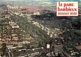 59 - Roubaix - Le Parc Barbieux - Vue Aérienne - Flamme Postale De Roubaix - Voir Scans Recto-Verso - Roubaix