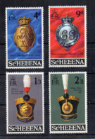 ISOLA DI ST. HELENA - 1970 - Equipaggiamento Militare - 4 Valori - Nuovi - Linguellati * - (FDC17272) - Isola Di Sant'Elena