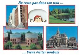 59 - Roubaix - Multivues - Automobiles - Voir Scans Recto-Verso - Roubaix