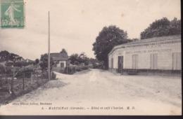 GIRONDE – MARTIGNAS – Hôtel Et Café Charlot - Frankreich