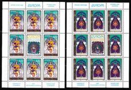 1997 BOSNIA SERBA EUROPA CEPT EUROPE 2 Minifogli MNH** 2 Minisheets - Europa-CEPT