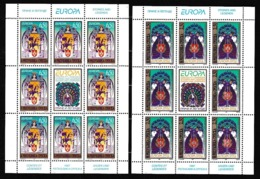 1997 BOSNIA SERBA EUROPA CEPT EUROPE 2 Minifogli MNH** 2 Minisheets - 1997