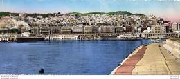 ALGERIE  ALGER Carte Longue Panorama Sur Le Port D'Alger - Alger