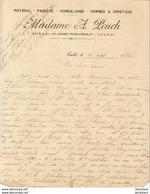 MADAME A. PEUCH à TULLE .......... CORRESPONDANCE COMMERCIALE DE 1920 - Frankreich