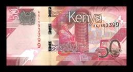 Kenia Kenya 50 Shillings 2019 Pick New Design SC UNC - Kenia