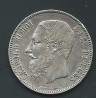 Monnaie, Belgique, Leopold II, 5 Francs, 5 Frank, 1870, TB+, Argent  Pia 21904 - 09. 5 Francs