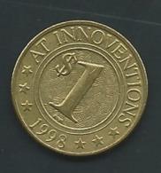Innoventions1998 Coin Heads  ,pia 22001 - Monétaires/De Nécessité