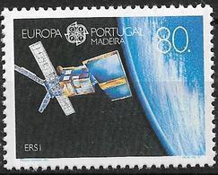 1991 Madeira    Mi. 147 **MNH   Europa: Europäische Weltraumfahrt. - 1991