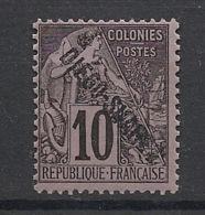 Diego-Suarez - 1892 - N°Yv. 17 - Alphée Dubois 10c Noir - Neuf Luxe ** / MNH / Postfrisch - Diégo-Suarez (1890-1898)
