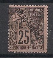 Diego-Suarez - 1892 - N°Yv. 20 - Alphée Dubois 25c Noir Sur Rose - Neuf Luxe ** / MNH / Postfrisch - Diégo-Suarez (1890-1898)