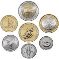 Timor, Set Of 7 Coins, 2003-2017 - Timor