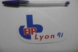Autocollant Stickers Médias RADIO FIP LYON 91 - Pegatinas