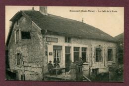 """RIMAUCOURT  (52) : """" LE CAFE DE LA POSTE """" - Other Municipalities"""