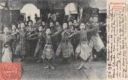 A-19-4881 : SINGAPORE. SIAMESE DANCING GIRLS. SIAM. - Singapur