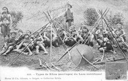 A-19-4882 : TYPES DE KHAS SAUVAGES DU LAOS MERIDIONAL. - Laos