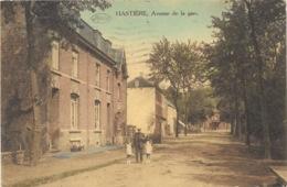 Hastière NA16: Avenue De La Gare 1924 - Hastière