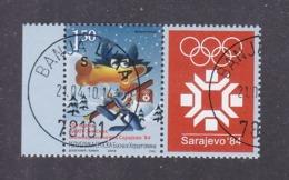 Bosnia And Herzegovina Republika Srpska 2009 25th Anniversary Of Sarajevo 1984 - XIV Olympic Winter Games Used - Invierno 1984: Sarajevo